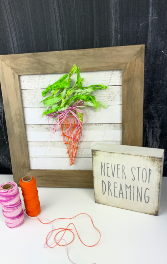 Carrot String Art
