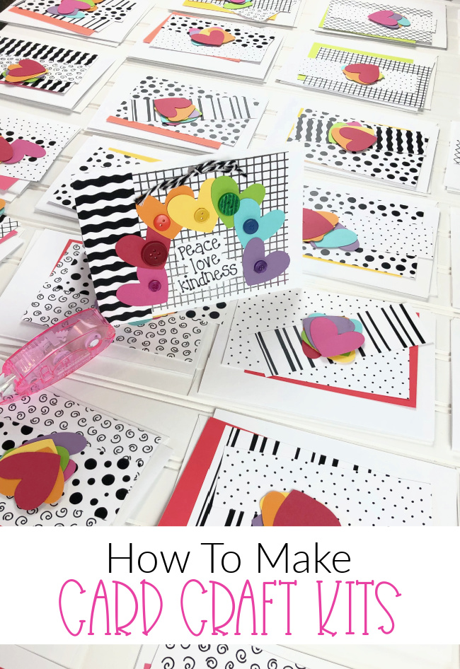 Card Craft Kits How to Make