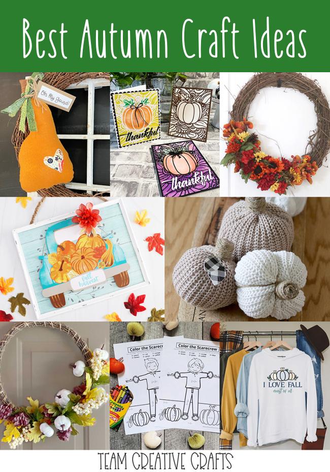 Best Autumn Craft Ideas #fallcraftideas