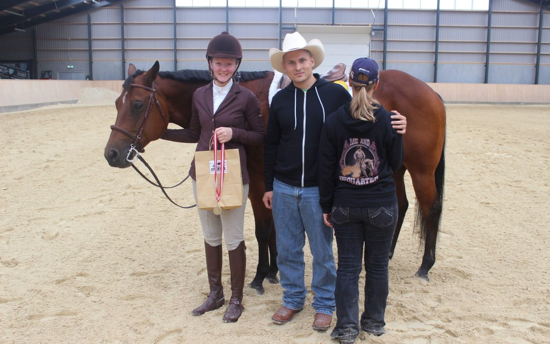 The Danish championship for Quarter horses