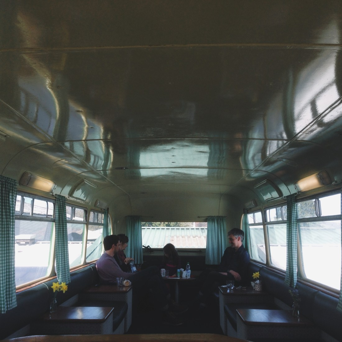 the cafe bus, honey farm
