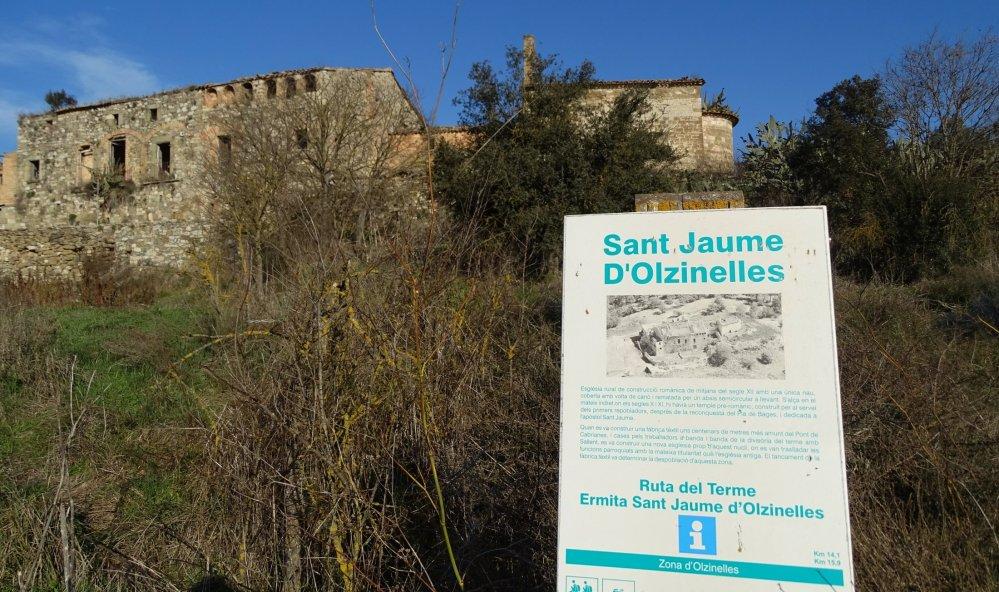 Sant Jaume d'Olzinelles. Quedaria segregat