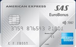 SAS EuroBonus American Express Premium Credit Card Amex