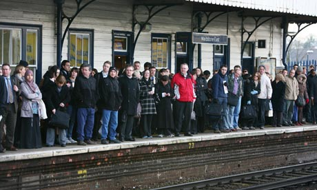Train delays as a metaphor for communication failure