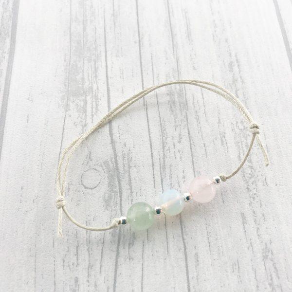 Green Aventurine Fertility Bracelet IVF Gift