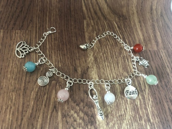 Fertility Charm Bracelet, IVF gifts, Fertility Gemstone