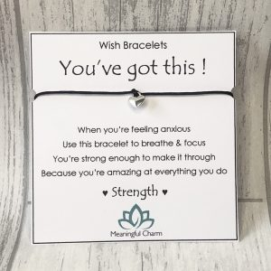 You've Got This Wish Bracelet Gift