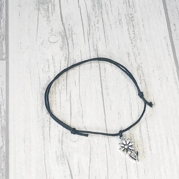 If you were a flower, I'd pick you wish bracelet gift