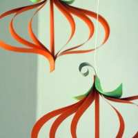 Paper Pumpkin Craft Tutorial