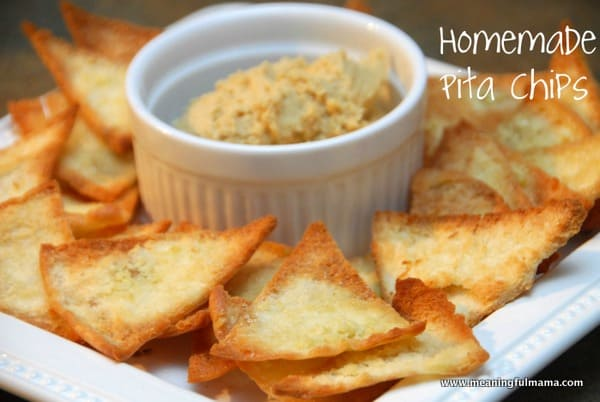 Homemade Pita Chips Recipe A Healthy Valentine Snack