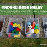 Orderliness Relay – Character Development Series
