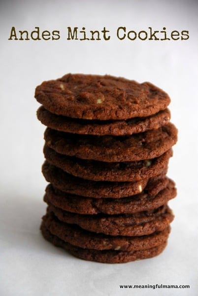 1-#Andes mint #chocolate cookies-016