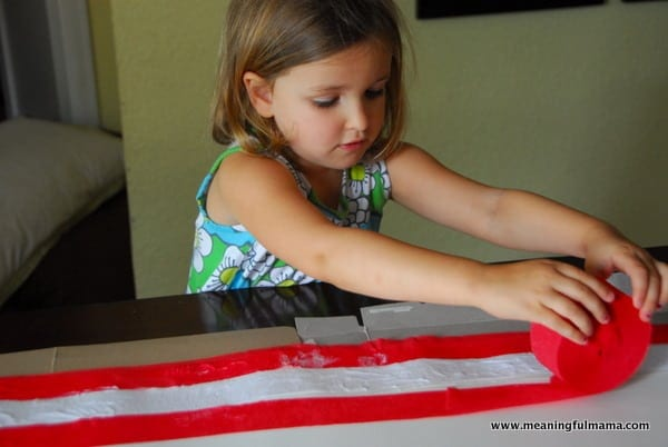 1-#american flag #craft-016