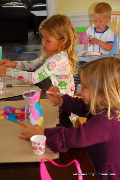 1-#polka dot vase #craft #kids-018