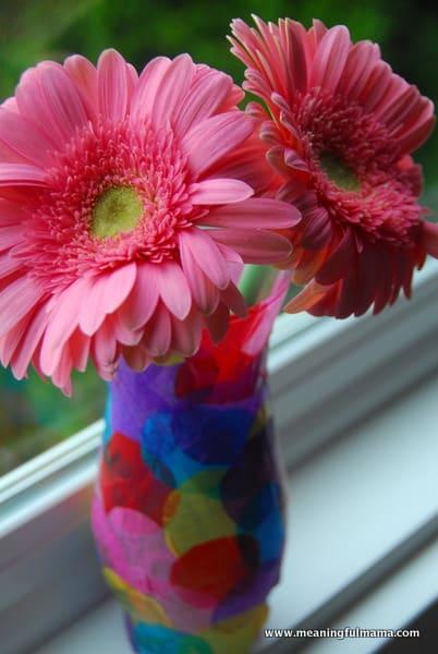 1-#polka dot vase #craft #kids-051