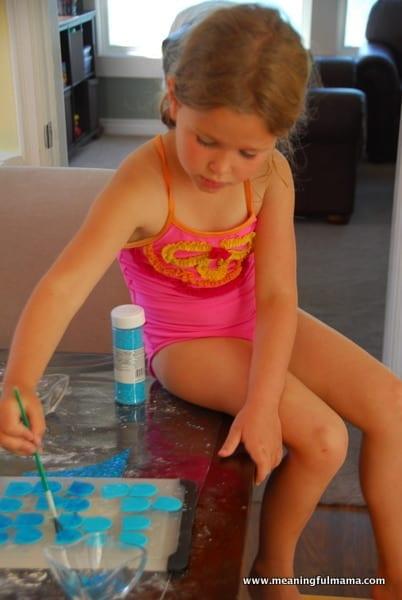 1-#mermaid party #cake #decorating-027