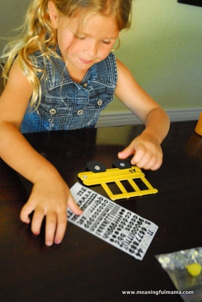 1-#school bus #Popsicle sticks #craft-015