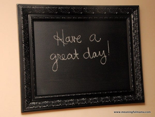 1-chalkboard made from frame diy-010