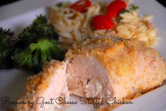 #chicken #goat cheese #rosemary #recipe