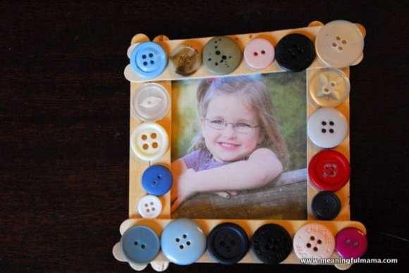 1-#popsicle stick frame #buttons #cubbies #bear hug 6-017