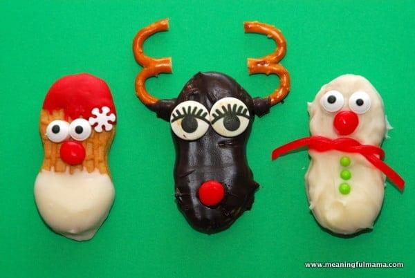 1-#nutter butter #Christmas #treats #food #cookies #santa #reindeer #snowman-023