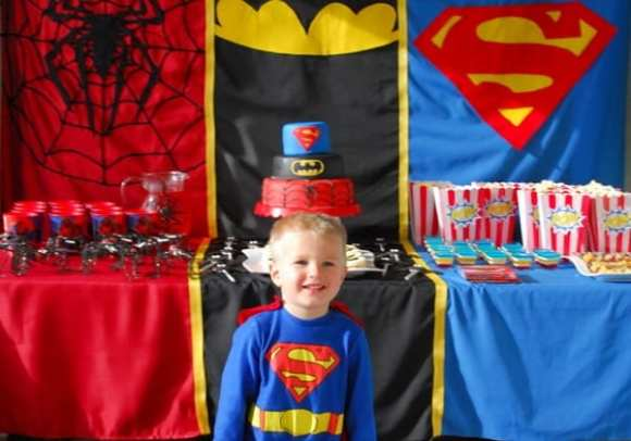 1-#superhero birthday party #ideas #3 year old-067