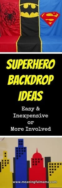 1-#superhero #partydecorations backdrop