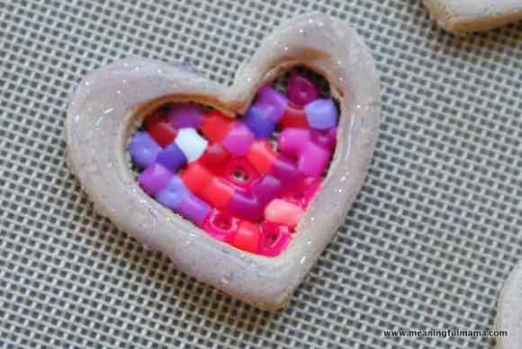 1-#valentines craft #salt dough #perler beads-039
