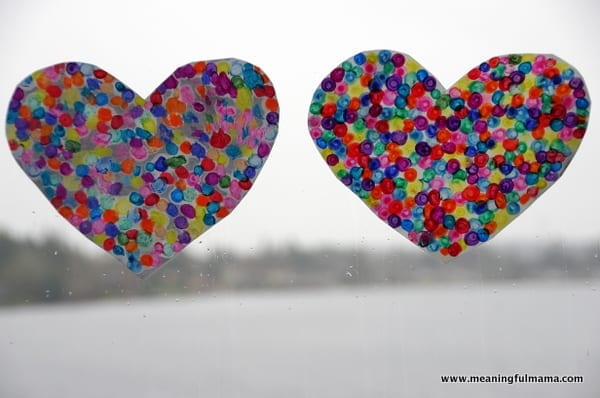1-#valentinescraft melted crayon dot heart-035