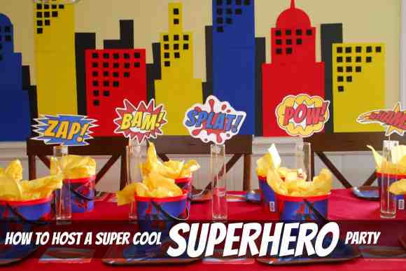 #superhero birthday party #ideas #3 year old-051