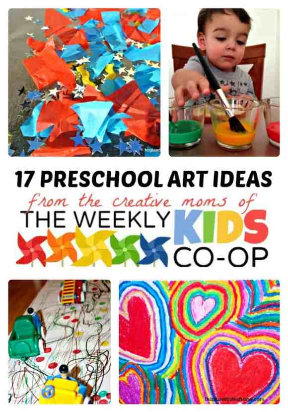 17-Creative-Preschool-Art-Ideas-from-The-Weekly-Kids-Co-Op-at-B-Inspired-Mama