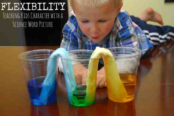 #flexibility #science experiment #absorbancy #kids