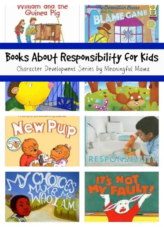 books about responsibility for kids