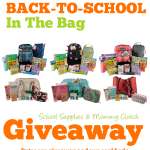 Back to School Giveaway from Boogie Wipes