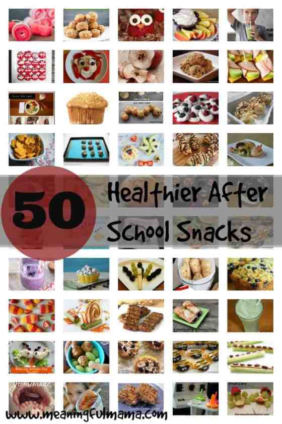 healthy after school snack ideas kids