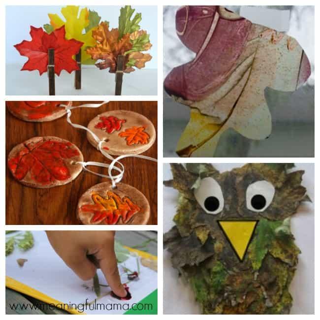 2 leaf crafts activities kids