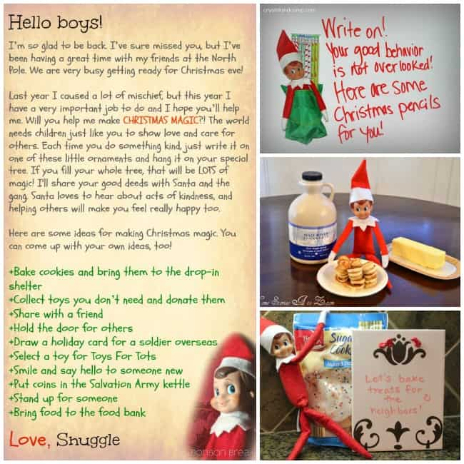 elf on the shelf nice kindness ideas 1