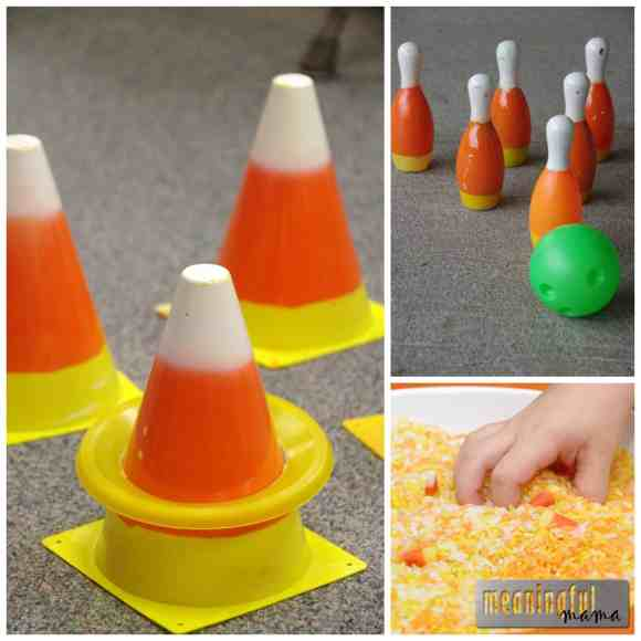 candy corn haves party games