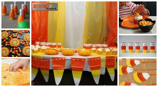 harvest party ideas classroom candy corn