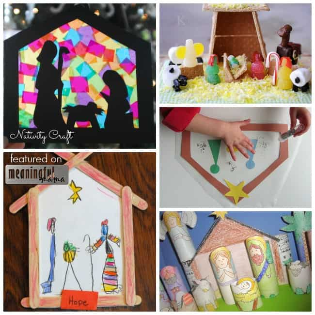 nativity craft ideas kids