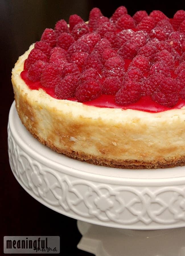 Amazing Raspberry Cheesecake Recipe