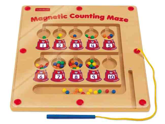 magnetic color maze learning game kids