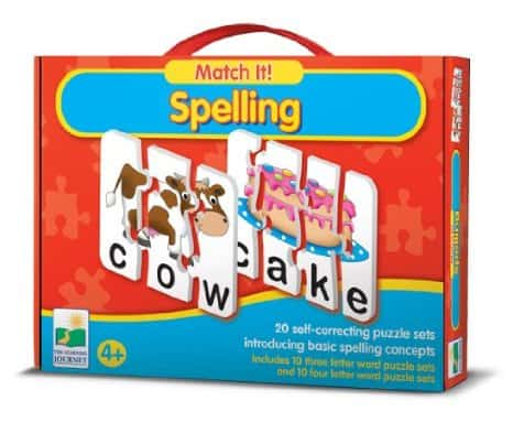 match it spelling puzzle review