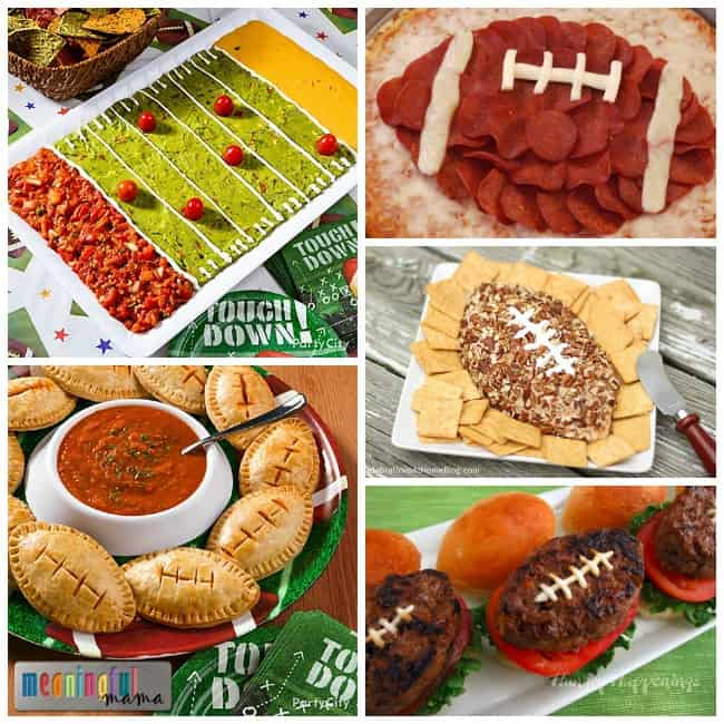 savory football food ideas party