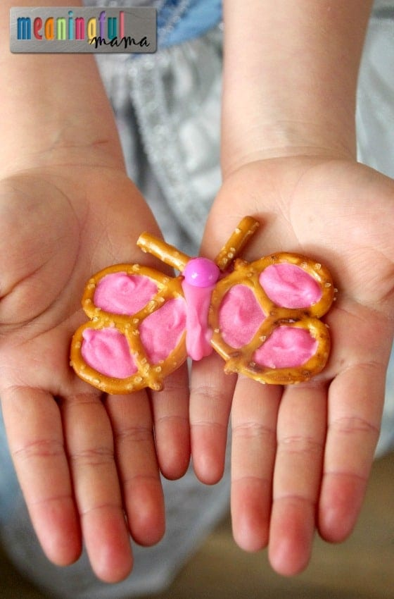 Chocolate Butterfly Pretzels Tutorial