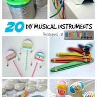 20 DIY Musical Instruments
