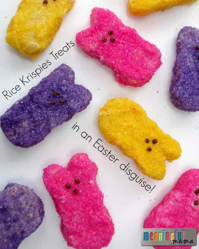 Rice Krispies Treats Peeps Easter