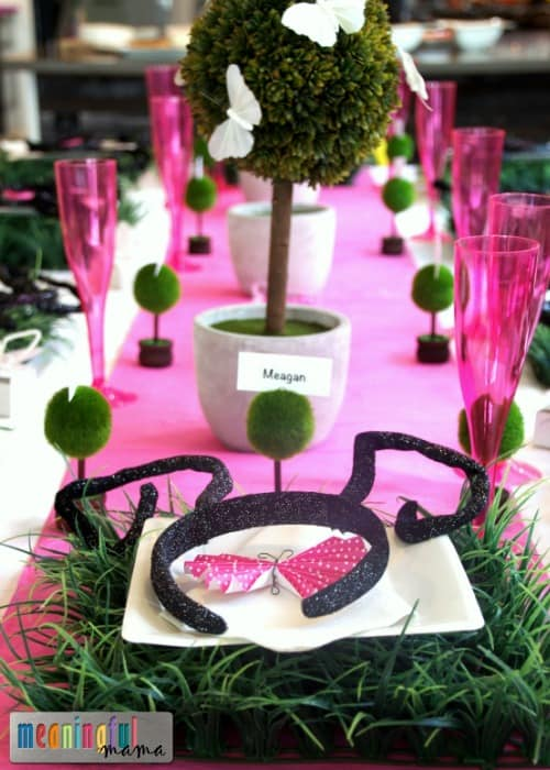 Butterfly Birthday Party Table Decorations