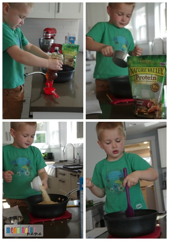 Homemade Nature Valley Granola Bars