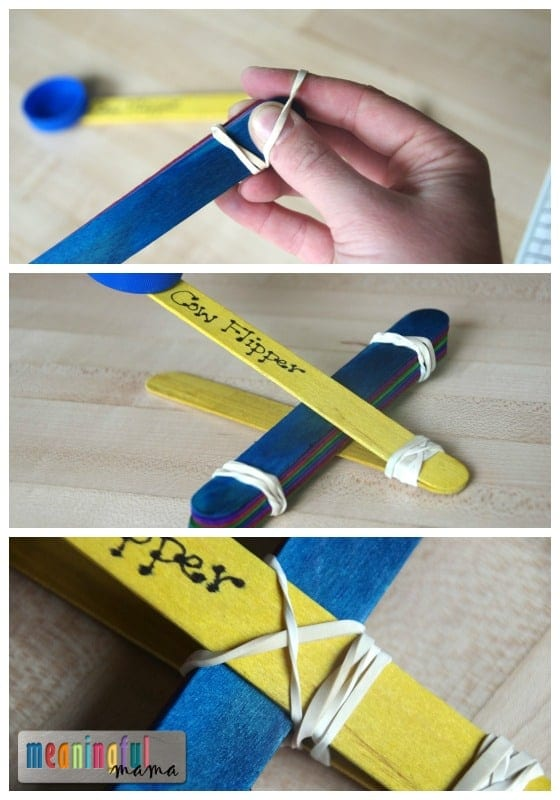 How to Make a Popsicle Stick Catapult - Making Snacking Fun